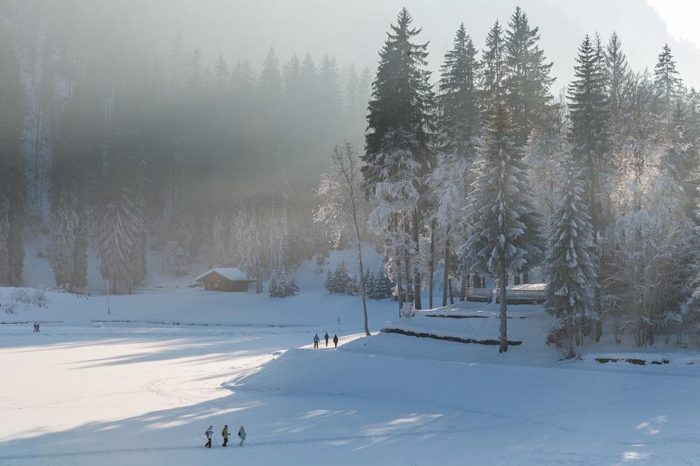 Lac de Montriond, Haute Savoie